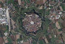 Medieval city (Palmanova,Italy)