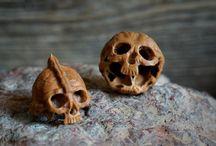 Mini sculpture bois