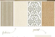 Colour Palette Tan/White