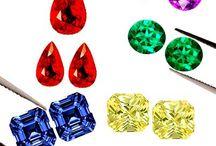 Gem Stones / Ruby Emerald Sapphire Jewelry