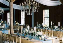 Blue- Gold Wedding