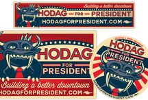 Hodag for President / A legendary voice from Wisconsin's Northwoods has thrown his horns into the ring: Rhinelander's famous Hodag is running for president. Join the campaign today!