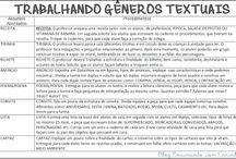 Ações para trabalhar gêneros textuais