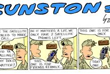 Gunston St. Patreon Comic Strip