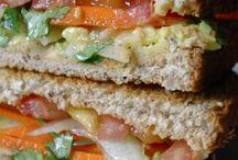 Sandwiches &wraps / by Jamie Tobias