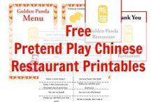 Free Pretend Play Printables!