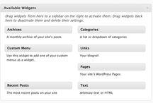 WordPress – admin mods