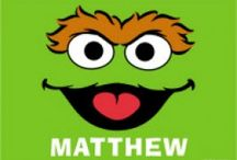 Personalised Sesame Street / Personalised products for Sesame Street fans