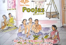 """Pujas / Pujas are the answer to the question """"How to Overcome Negative Energy""""—Happiness and peace are the most precious gifts of your life. You have to undergo several obstacles before possessing these divine blessings.  The """"obstacles"""" you face on the pathway of success is the """"negative energy"""". Removal of negative energy is possible only through a divine positive vigor, Pujas and pariharas (remedies)."""