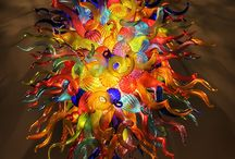 Dale Chihuli /  Blown Glass Art / by Gloria Fraser