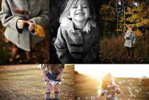 Children photoshooting