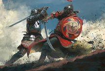 illustration battle