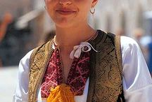 Croatian traditional dresses for girls