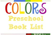 Pre-School Theme: Colors