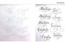 Handlettering & Zeichnen