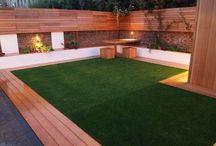 grass indoor