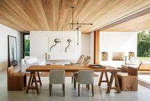 Sala com Forro de madeira