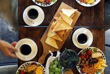 food & plates