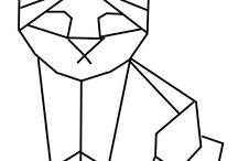 Dessins origami