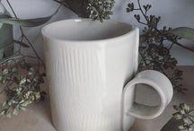Taylor Ceramics Instagram Soft and subtle // porcelain and eucalyptus  #mugshotmonday #handmademugs #ceramics #handbuilding #eucalyptus #winterwhite #taylorceramics