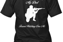 In Memory of Fallen Soldiers / In Memory of Fallen Soldiers Tee Shirts / by Brianna Keith