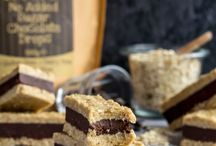 Peanut oatmeal bar