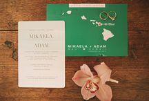 Invitation Suites / Wedding Invitation Suites & Save The Date ideas