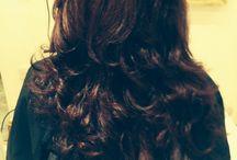 Hair done at Viia hair salon' / Big bouncy Blow dry