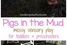 toddler - farm activities