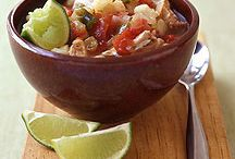 Warm up for Winter / Warm-the-tummy soups and comfort foods for the winter