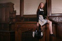 2014 AW / photo: Pop Design  model: Sallói Anna make up: Schmíz Ágnes clothes: musume shoe: Vans
