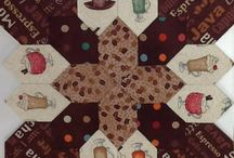 Lucy Boston Blocks / Vintage Quilt blocks