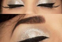 Pin up + makeup