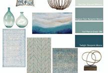blue kitchen accessories
