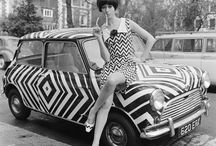 op art girl