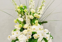 Pedestal Arrangements / Pedestal Arrangements Suitable for Churches, Wedding and Reception Venues.