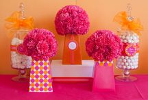 Party Flowers / by Paula Biggs for Frog Prince Paperie