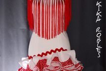 Faldas flamenca
