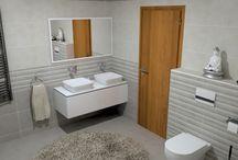 Fürdőszoba látványtervek - Nyíregyháza
