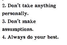 *Quotes