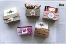 Wood Crate Stampin Up