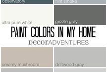 Paint colors for Walls