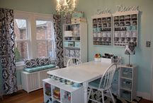 Craft room ideas / by Peggy LaFountain
