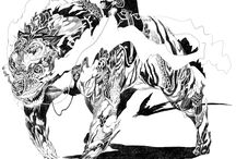 mythological monsters, gods and folklore