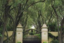 Cambridge entrance way