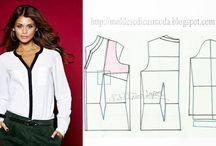 sewing patterns&elbise kaliplari