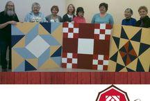 Alberta Barn Quilts / Alberta is on the barn quilt trail.