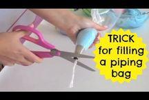 Cupcakes tips & tricks (incl piping)