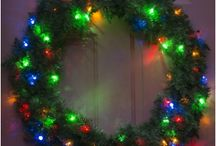 Dual Color String Lights, Trees and Wreaths
