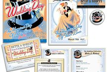 Fairy Tale Wedding / Create you magical wedding invitations and matching items for a wedding right out of a storybook.